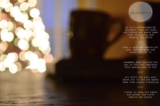 Dates // January
