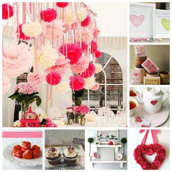 v-day collage