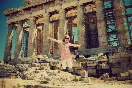 jumping greece