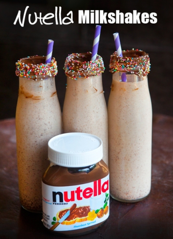 Nutella-Chocolate-Milkshakes